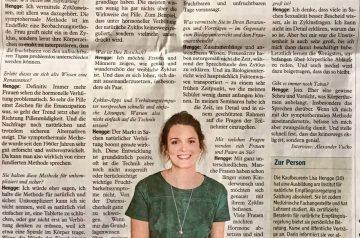 Allgäuer Zeitung 22.2.19 Interview mit Lisa Hengge
